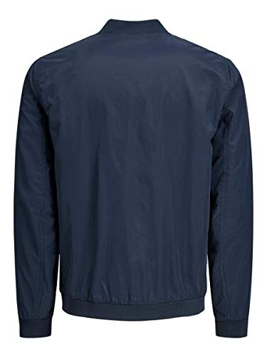 Jack & Jones Jjerush Bomber Noos Chaqueta, Blazer Azul Marino, XL para Hombre