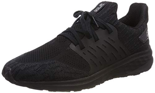 Jack Wolfskin Coogee Knit Low, Zapatillas para Hombre, Negro...