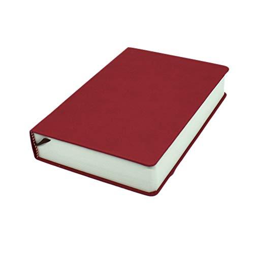 Blanko-Seiten, Notizbuch, A4, A5, A6, super dick, 660 Seiten, Skizzenbuch, mit Kunstleder-Einband für Skizzenbuch, Tagebuch, Geschäft, Schule, Schreibwaren, Home Office