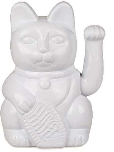 Bada Bing Design Winkekatze Lucky Cat Weiß Ca. 20 cm Hoch Angesagte Dekoration Deko Figur China Katze 21