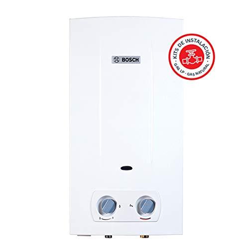 Bosch Confort 13L Natural + Kit de mangueras Calentador de agua Blanco