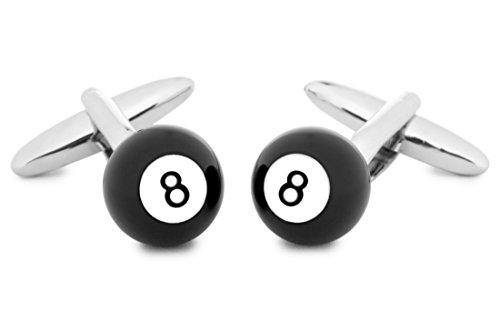 SoloGemelos - Gemelos Bola De Billar 8 - Negro - Hombres