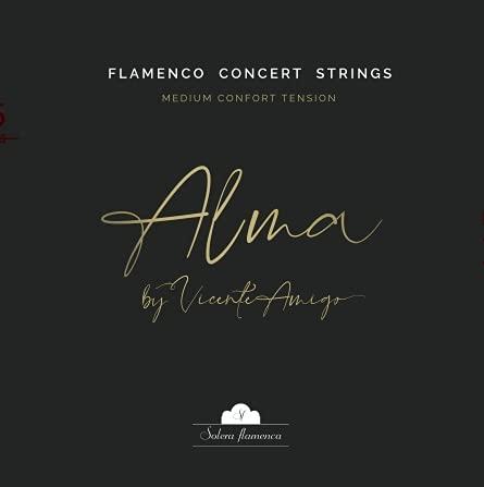 Set de Cuerdas para guitarra  ALMA  by VICENTE AMIGO Solera Flamenca STRINGS