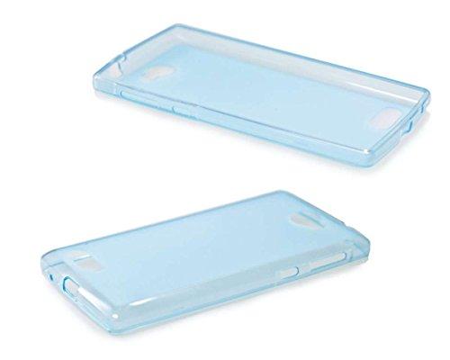 caseroxx TPU-Hülle für Archos 50 Diamond, Handy Hülle Tasche (TPU-Hülle in blau)