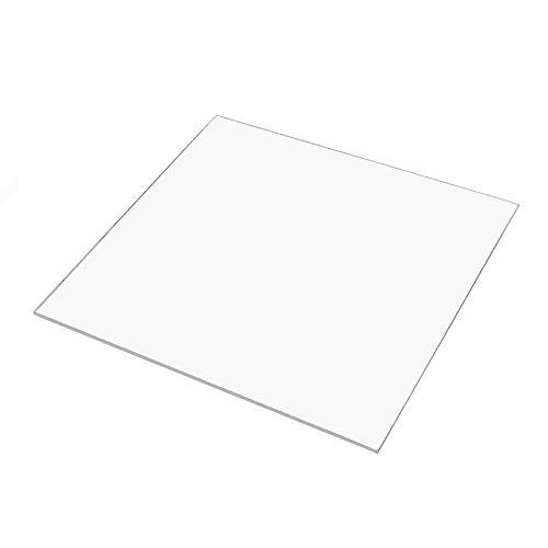 280 mm x 220 mm x 3 mm in vetro borosilicato per stampante Tevo Tarantula 3D