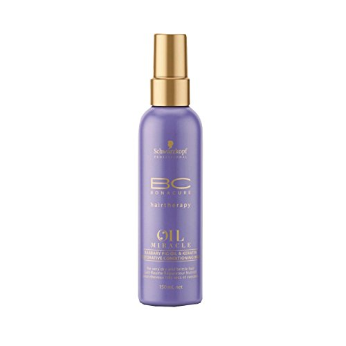 Schwarzkopf Bonacure Oil Miracle Barbary Fig oil and Keratin Spray Conditioner Milk, 1er Pack, (1x 150 ml)