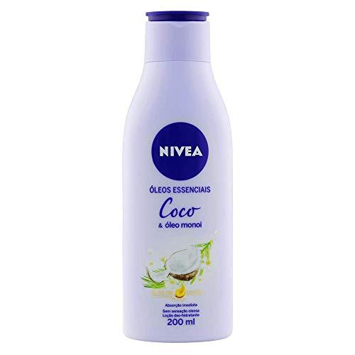 Nivea Hidratante Desodorante Nivea Coco e Óleo Monoi, 200ml
