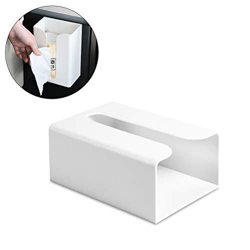 BovoYa Tissue Box Küchentoilettenpapier-Kasten-klebender an der Wand befestigter Papierhandtuchhalter-Toilettenpapier-Kasten Geeignet für Toiletten, Küchen, Wohnzimmer
