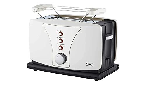 KHG Toaster Weiß Kunststoff 27,0cm B x 18,5cm H