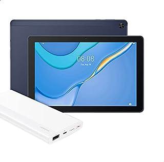 Huawei MatePad T10 Tablet, 9.7 Inches, 32 GB, 2 GB RAM - Deepsea Blue with Huawei Power Bank 10000 mAh