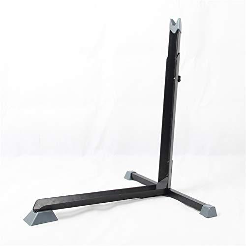 GFYWZ Fahrradständer, freistehender Hochleistungs-Fahrradständer Höhe einstellbar 63-76,5 cm