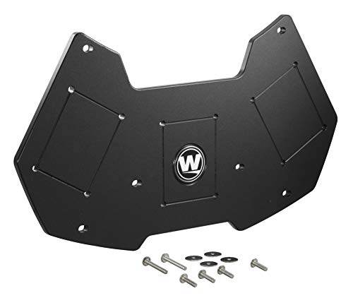 Wilderness Systems Kayak Stern Mounting Plate Gen 2 | Fits ATAK 120 Kayaks | Torqueedo Motor Mount | Kayak Power Pole Mount | Kayak Accessory Mount, One Size, Black (8070229)