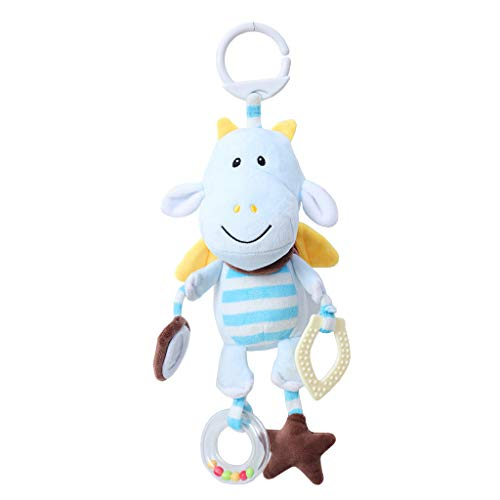 Fineday Animal Plush Toys Developmental Toy Bed Hanging Bed Infant Kids Baby Soft Toys C, Toys and Hobbies (C)