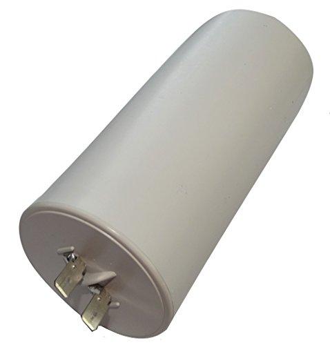AERZETIX: Condensatore permanente di lavoro per motore 65µF 450V con capicorda 6,3mm Ø55x119mm ±10% 10000h C18739