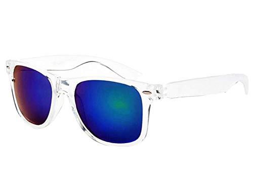 Gafas de sol con espejo cuadrado - hombres - mujeres - unisex - polarizadas - retro - verde oscuro - primavera - otoño - invierno - verano