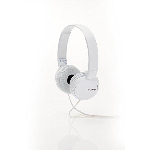 Sony MDR-ZX110 Wired On Ear Headphone without Mic (White)