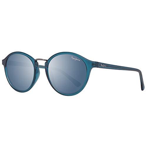 Pepe Jeans PJ7291C350 Sonnenbrille PJ7291 C3 Janie Rund Sonnenbrille 50, Blau