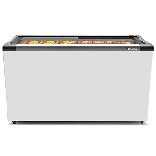 Freezer Expositor Horizontal Metalfrio Branco -15 °C A -18°C 318 Litros NF40SB 220V