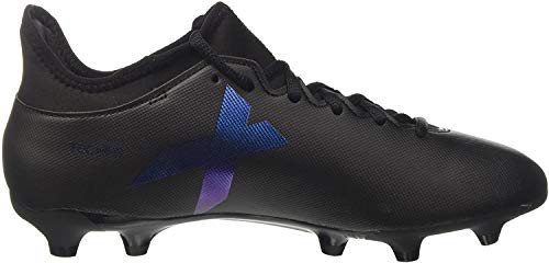 adidas Mens X 173 Fg Soccer Shoe Black Core Black Utility Black 75 UK