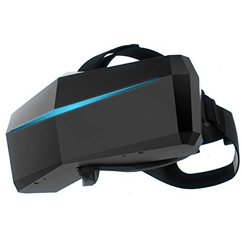 LANTELSHANO VR-Virtual-Reality-Headset Auf Dem Kopf Montierter Panorama-Spielfilm Einteilige Maschine 200 ° FOV Superweitwinkel Doppeltes OLED-Panel Mit 2560 X 1440 Pixel Und 6DOF-Tracking-PC AR-Helm