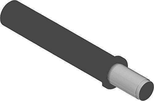 10 Stück - Türdämpfer 970.1002 BLUMOTION Tür-Puffer | Möbeldämpfer Anschlag an der Griffseite | Türanschlag-dämpfer zum Einbohren | Kunststoff staubgrau