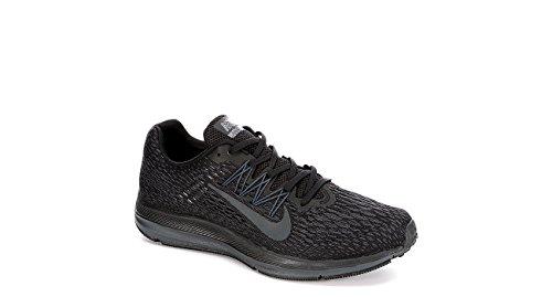 Nike - Zoom Winflo 5 Hombre , Negro (Negro / Antracita), 42 EU