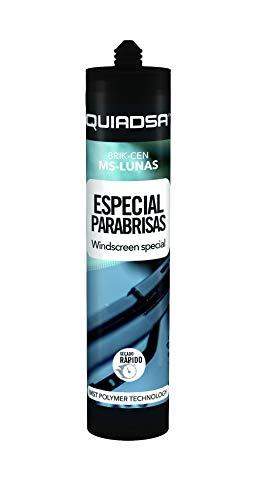 Quiadsa 52503572 Polímero Ms para Pegado y Sellado de Lunas y Cristales, 290 ml