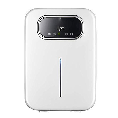 NXYJD Refrigerador Compacto/Calentador Mini refrigerador/Enfriador de Vino con termostato Digital + enfriamiento de Doble núcleo for automóviles, Viajes por Carretera, hogares, oficinas y dormitor