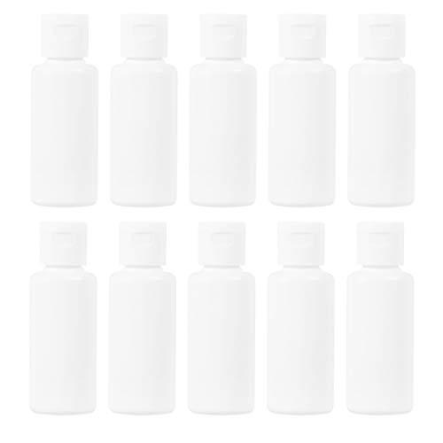 Frcolor 30個 小分けボトル 30ml ワンタッチキャップ 詰め替えボトル トラベルボトル プラスチック製 化粧水 クリーム コスメ小分け 携帯用容器 旅行用