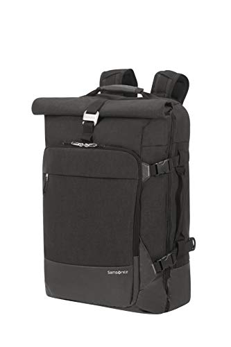 SAMSONITE Ziproll - Duffle/Backpack Small - Three-Way Boardcase Koffer, 55 cm, 50 Liter, Black