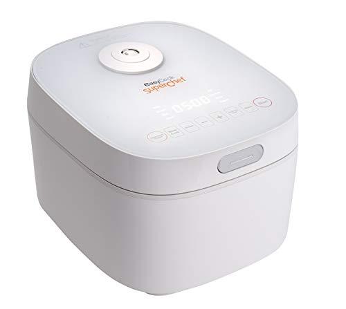 Superchef Robot de Cocina Inteligente CF104 CookFast, 9 funciones de cocción, programable, 4 litros, cocción homogénea inteligente.