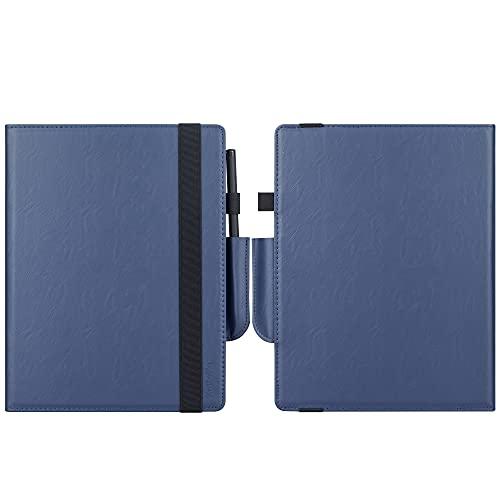 VOVIPO Book Folio Custodia in Pelle con Tracolla e Tasca per Stilo per Remarkable 2 10.3 2020 Released Digital Paper