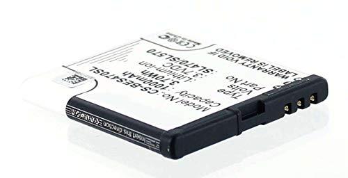 Akkuversum Akku kompatibel mit Bea-fon SL590, Handy/Smartphone Li-Ion Batterie