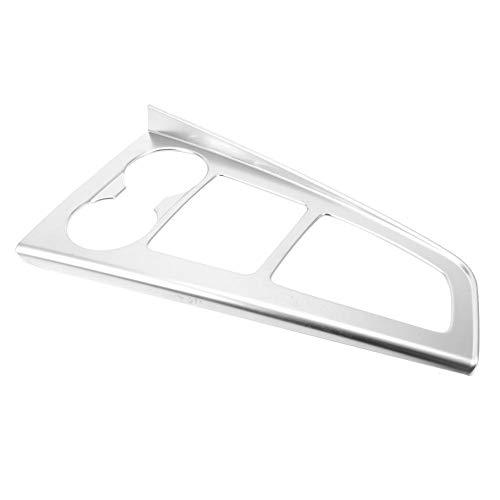 KIMISS Silver Car Interior Getriebe Konsole Panel Frame Cover Trim, ABS Auto Getriebe Shifter Panel Cover Trim Passend für A4L A4 17-19