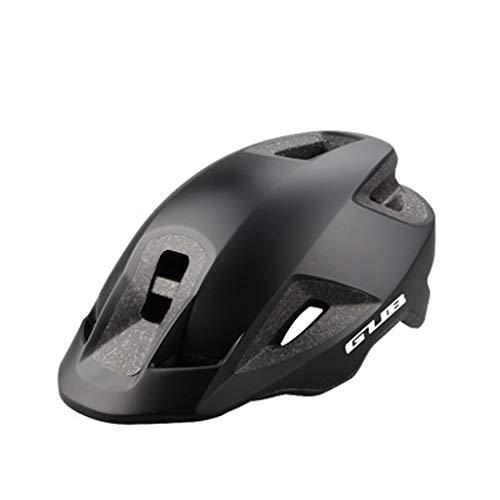 JM- Mountainbike Helm Auto einteilig geformte Hut Gesims Männer und Frauen Fahrradhelm (Color : A)