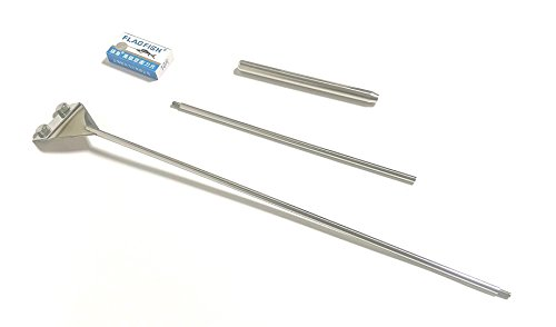 プロレイザー スクレーパー 水槽 苔 コケ取り 掃除 66cm 替え刃付(10枚)