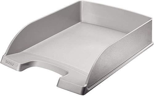 Esselte Leitz 5227-85 - Briefkorb A4 Plastik grau
