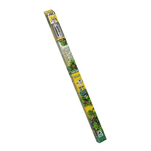 JBL 61610 Solar-Leuchtstoffröhre Sonnenlichtröhre für Aquarienpflanzen, 15 W, 438 mm, Solar Tropic Ultra T8