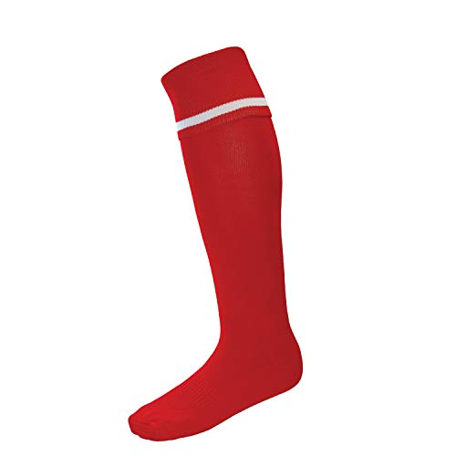 Surridge Sports Calcetines SURF027RE/W7-11 para hombre, rojo, talla 7-11