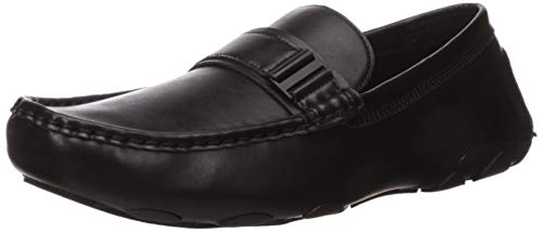 Unlisted by Kenneth Cole Men's String Driver Driving Style Loafer, Black, 11 M US