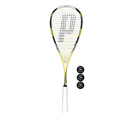 Prince Pro Rebel 950 Raquettes de Squash (Diverses Options) (Une Raquette Plus des balles*)