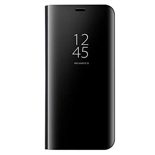 coque Clear View staande behuizing met spiegels Flip Case voor Huawei p Smart Z 2019