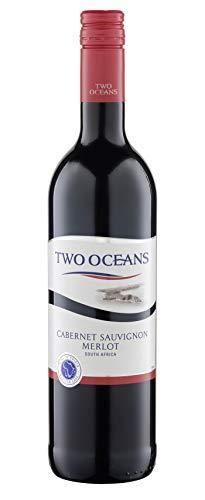 6x 0,75l - 2019er - Two Oceans - Vineyard Selection - Cabernet Sauvignon & Merlot - Western Cape W.O. - Südafrika - Rotwein trocken