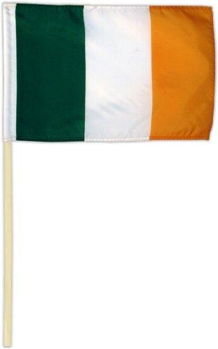 Fahne Flagge Irland 30 x 45 cm mit Stab