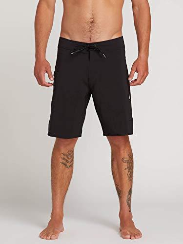 Volcom Lido Solid Mod 20 inch Boardshorts 28 inch Black