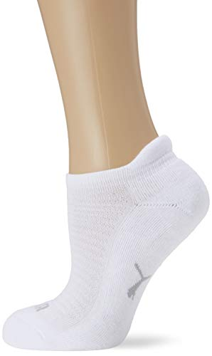 PUMA Damen SNEAKER 2P WOMEN Socken, white, 35-38 (2er Pack)