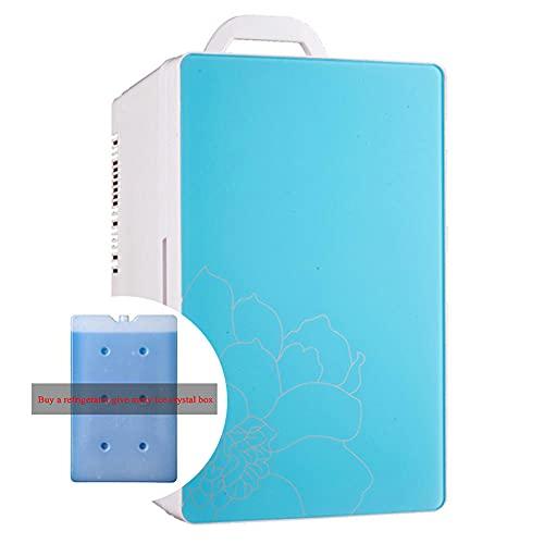 NOVHOME Mini Nevera Portatil, Refrigerador de Coche de 16L 12 V / 220 Compresor de Coche Temperatura del Refrigerador -20 ° -65 ° (Comprar Refrigerador Liberarse Cristales de Hielo Caja)