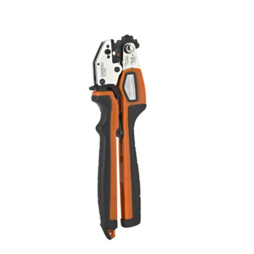 Thomas & Betts TBM45S Crimping Tool with Shure Stake Mechanism for 8 through 2 Copper and 10 through 6 Aluminum Lugs