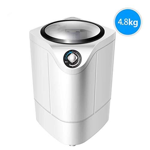 LQ washing machines Waschmaschinen XPB48-B1 Kleine PP Waschmaschine, Haushalt 4.8kg Große Kapazität Waschmaschine, Schlafsaal Einzige Kübel Halbautomatische Waschmaschine 240W (Color : C)