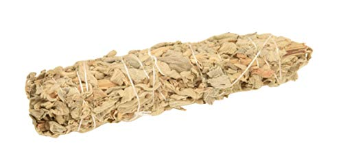 Blessfull Healing California White Sage 6 Inches Smudge Sticks/Use for Home Cleansing, and Fragrance, Meditation, Smudging Rituals -1 Pack